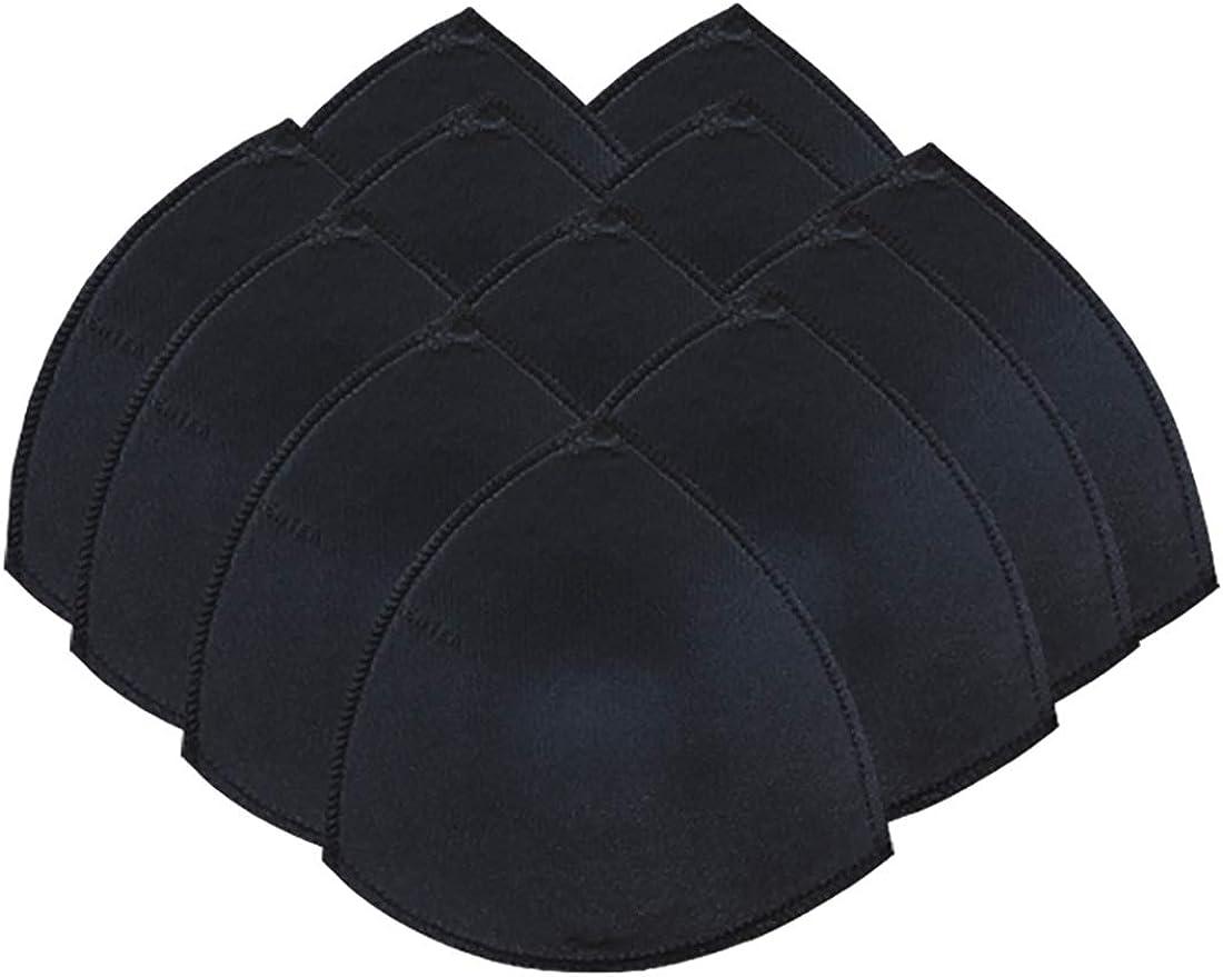 6 Pairs Bra Pad Insert For Sports Bra Or Bikini Tops Black At Amazon Women S Clothing Store