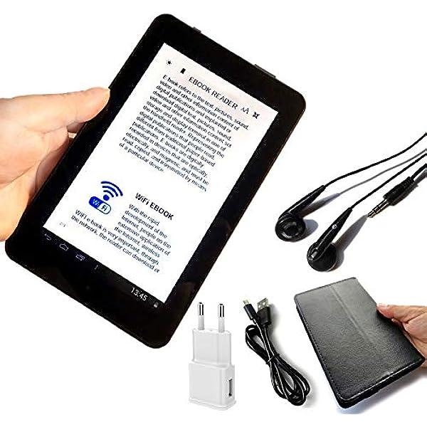HUAI 7 Pulgadas de Pantalla LCD Lector de Libros electrónicos de visualización WiFi Reproductores Digitales Seguros for el Ojo Inteligente de Alta definición con Multi-Idioma Global Ayuda SD: Amazon.es: Juguetes y juegos