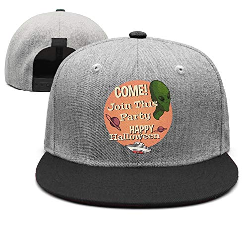 (Alien planet party Unisex black Baseball Hat for Men Women Hip-Pop Caps)