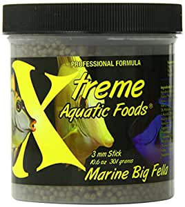 Xtreme Aquatic Foods Marine Big Fella Fish Food, 10.6-Ounce