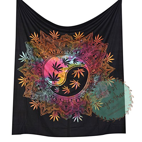 Colors Rajasthan Marijuana Tapestry Tapestries product image