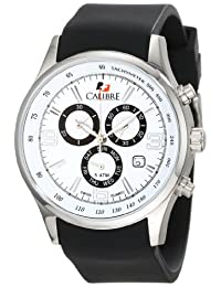 Calibre Men's SC-4M1-04-001 Mauler Stainless Steel Chronograph Tachymeter Day Date Watch