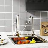 ESOW Countertop Water Filter, 304 Stainless-Steel
