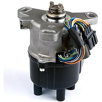 amazon com ignition distributor for 92 95 honda civic 1 5l 1 6l rh amazon com