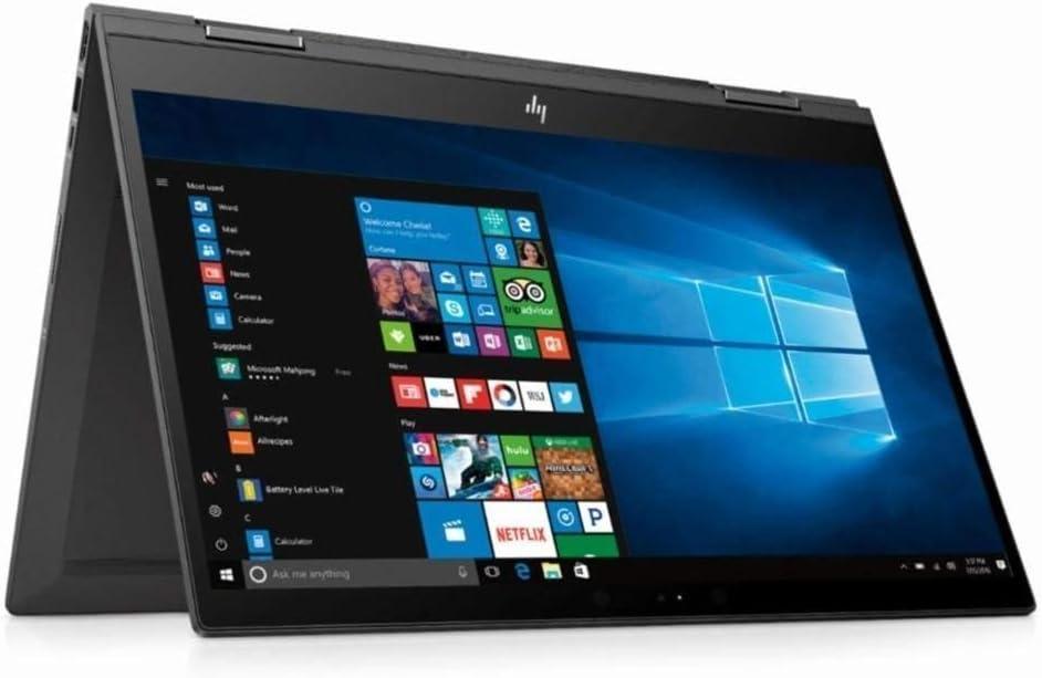 "2019 HP 15.6"" FHD Touchscreen 2 in 1 Laptop Computer, AMD Quad-Core Ryzen 7 2700U up to 3.8GHz, 16GB DDR4, 256GB SSD, 802.11AC WiFi, Bluetooth 4.2, USB 3.1 Type C, HDMI, Backlit Keyboard, Windows 10"