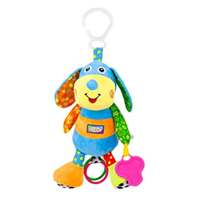 TOYANDONA Baby Hanging Rattles Toys Newborn Crib Toys Car Seat Stroller Toys Baby Rattles Toys for Infant: Toys & Games