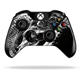 Protective Vinyl Skin Decal Cover for Microsoft Xbox One/One S Controller wrap sticker skins Snake Bite