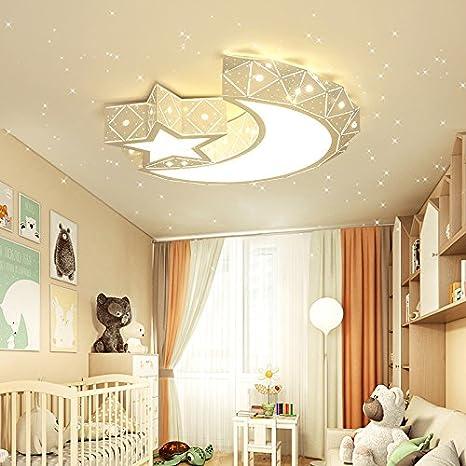 Malovecf Habitación infantil lámpara Luna Estrella chica 45 ...