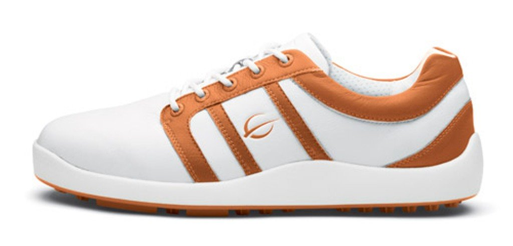 Gobe Prideホワイトオレンジゴルフシューズサイズ8   B00KGJDZ6G