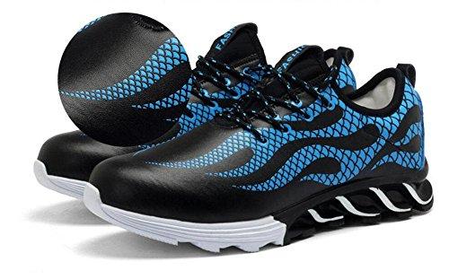 SHIXR Männer Lässige Sportschuhe Europäische Stil Trend Laufschuhe Blade Herren Schuhe Fitness Schuhe Basketball Schuhe , blue , 39