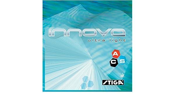 Amazon.com : STIGA Innova Ultra Light Table Tennis Rubber : Sports & Outdoors