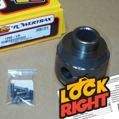 - PowerTrax 1250-LR Lock-Right Locker (Chrysler 8-1/4