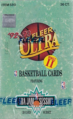 1992/93 Fleer Ultra Series 2 NBA Basketball HOBBY box (36 -