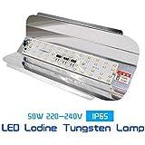 HD Homes Decor IP65 50W Waterproof LED Flood Light (White)