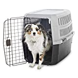 Cheap Animaze Standard Kennel for Dogs or Cats, 28″ L x 20.5″ W x 21.5″ H, Small, Black/Gray