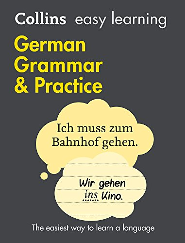 Collins Easy Learning German – Easy Learning German Grammar and Practice|-|0008141657