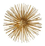 Torre & Tagus 901918A Spike Decor Sphere Small, Gold