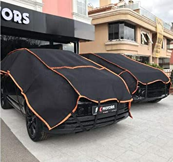 Hail Protection Car Cover >> Big Size Car Cover Hail Protector For Suvs And 4x4s Hail Storm Stone Snow Strong Auto Guarding 6 Mm Thickness 320cm X 600cm Portable Tarpaulin