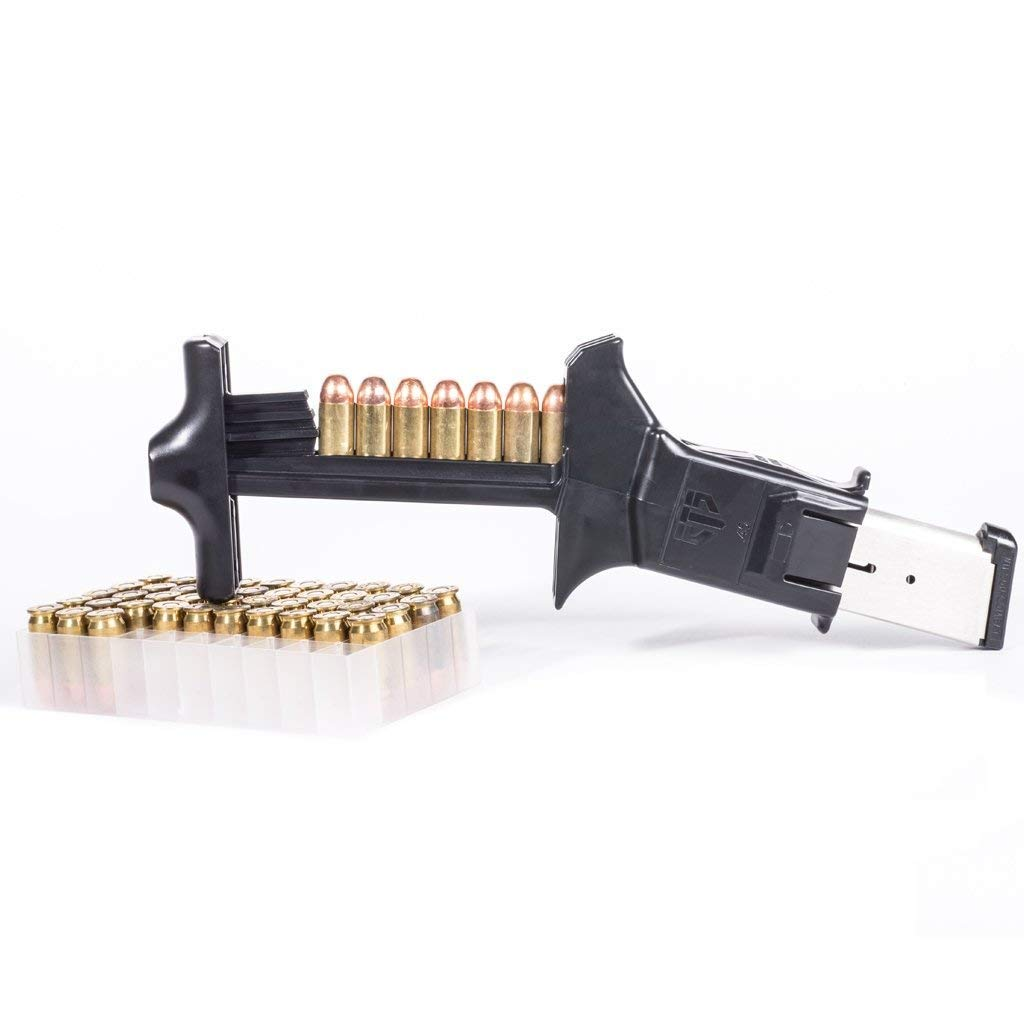ETS Elite Tactical Systems C.A.M. Speed Loader for 45 Cal Magazines ETSCAM-45, Black