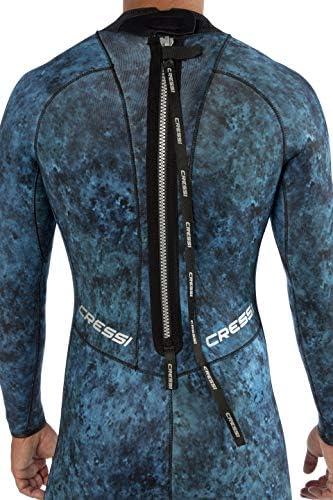 Amazon.com: Cressi Blue Hunter - Traje de neopreno de alta ...
