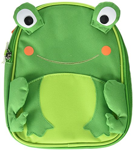 Skip Hop Baby Zoo Little Kid and Toddler Insulated and Water-Resistant Lunch Bag, Multi Floyd Frog