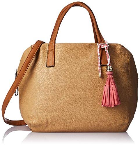 Gussaci Italy Women's Handbag (Camel) (GUS064)