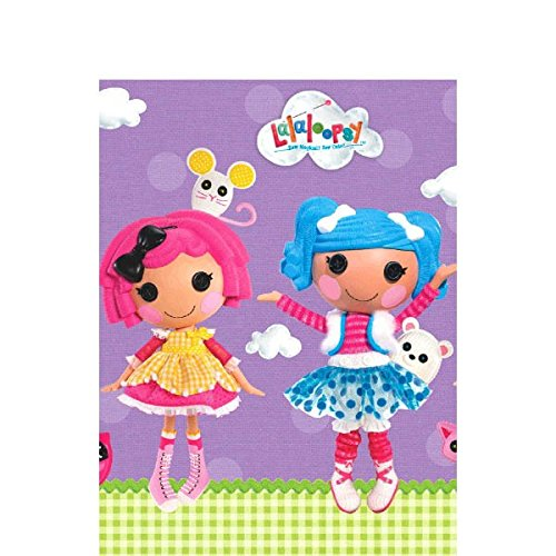 Adorable Lalaloopsy Paper Table Cover Birthday Party Disposable Tableware Decoration (1 Piece), Multi Color, 54