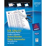 Avery Clear Self-Adhesive Laminating Sheets, 3 mm, 9 x 12-Inch, 10 Per Pack (73603)