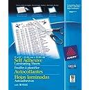 "Avery Self-Adhesive Laminating Sheets, 9"" x 12"", Pack of 10 (73603)"