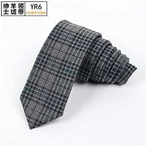 GENTLEE TIE La cuadrícula de Color Puro japonés nórdicos Cashmere ...