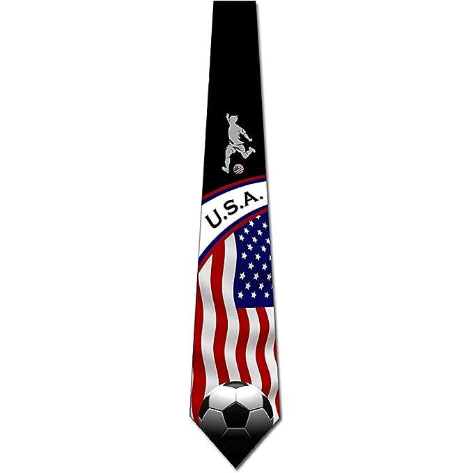Hombres Corbata Corbata,Corbatas De Fútbol Hombre Estados Unidos ...