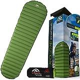 Ultralight 17oz Camping Sleeping pad- Gear Doctors ApolloAir - Compact , Warm 5.2 R-Value 4 Season Air Mattress , Perfect for