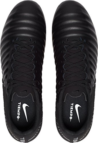 001 Nero Scarpe Nike da Tiempo Uomo Ligera EU Iv Black Fg Black 44 Black Calcio qw87Aw