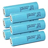 Samsung INR18650-25R Rechargeable Flat Top Batteries 2500mAh (Pack of 6), Model: , Electronics & Accessories Store