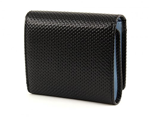 LACOSTE Chantaco Medium Trifold Wallet Black