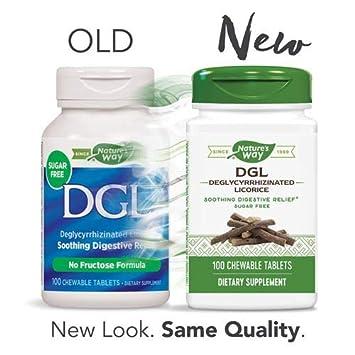 Amazon.com: DGL-FF (sin azúcar o fructosa), terapia ...