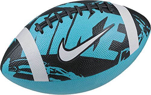 Nike Spiral - Nike Youth Spin 3 Football (Blue/Black)