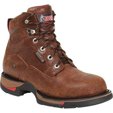 Rocky 8878 Men's Long Range WP 6-in Boot Oak 13 W US
