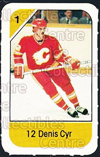 (CI) Dennis Cyr Hockey Card 1982-83 Post Cereal 38 Dennis Cyr ()