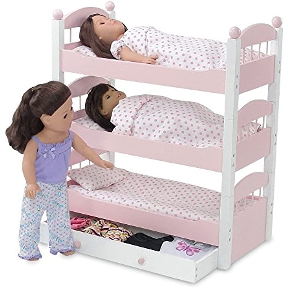 American Girl Doll Triple Bunk Bed Shop Clothing Shoes Online