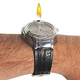 Military Lighter Watch Novelty Man Quartz Sports Refillable Butane Gas Cigarette Cigar Men Watches