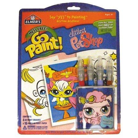 - Elmer's Kids Arts and Crafts Littlest Pet Shop gopaint