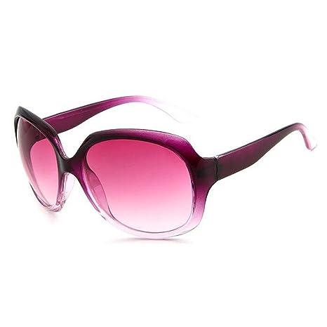 Z&YQ Gli Occhiali Da Sole Adattano Gli Occhiali Da Sole Europei Ad Occhiali Da Sole Grandi , Bright Black