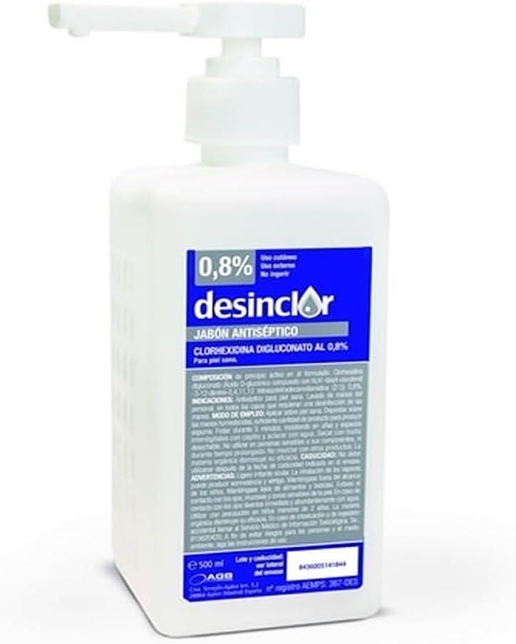 Desinclor Jabón Antiséptico-500 cc