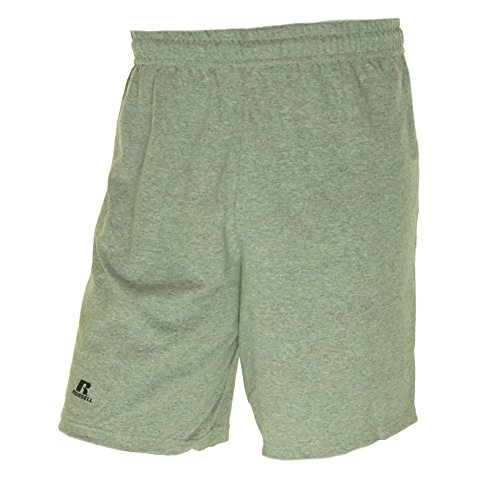 Russell Athletic Men's Athletic No-Pocket Short Oxford (Russell Athletic Elastic Waist Shorts)