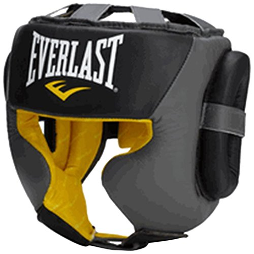 EVERLAST 【エバーラスト正規品】C3 PROFESSIONAL SPARRING HEAD GEAR ブラック SM EV560001