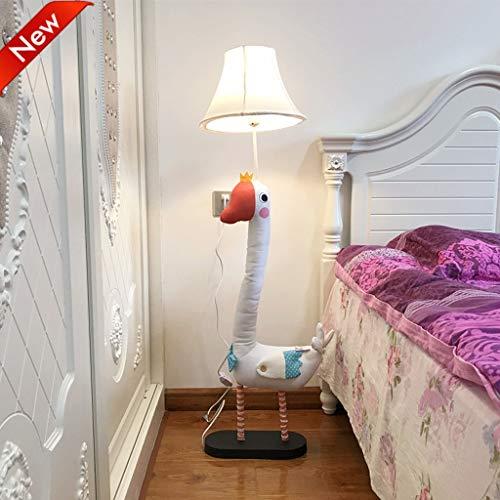 Kids New Leather Floor Lamp Creative Living Room Bedroom Children
