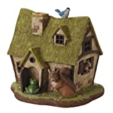 LED Solar Cute Animals House Ornament Light, Size : W 12.00 x L 10.43 x H 11.41 Inch