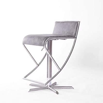 best sneakers 48fb1 1f4af Amazon.com: LiaoMu Counter Stools Bar Stool,Stainless Steel ...