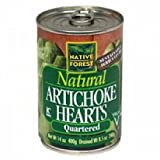 Native Forest Artichoke Hearts Quarter ( 6x14.12 OZ)